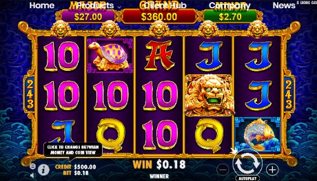 5 Lions Gold uk slot game