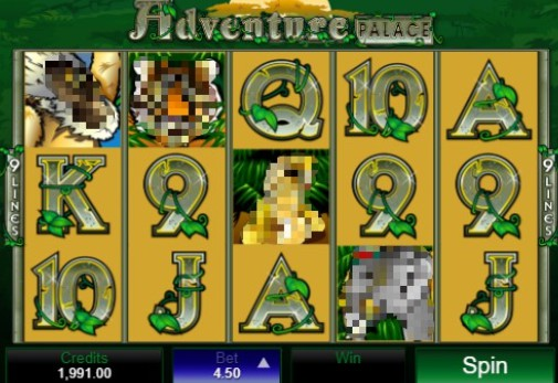 Adventure Palace UK Slots
