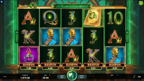 Book of Oz uk slot game