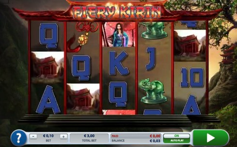 Fiery Kirin uk slot game