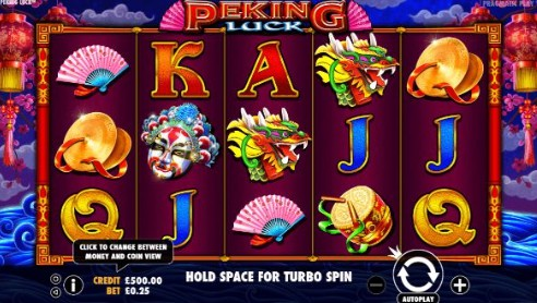 Peking Luck uk slot game