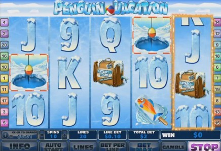 Penguin Vacation uk slot game