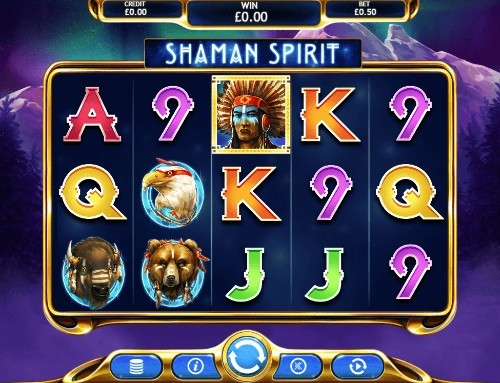 Shaman Spirit uk slot game