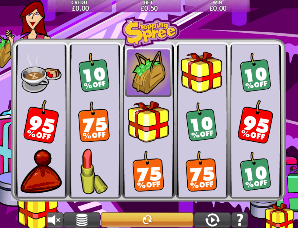 Shopping Spree uk slot game