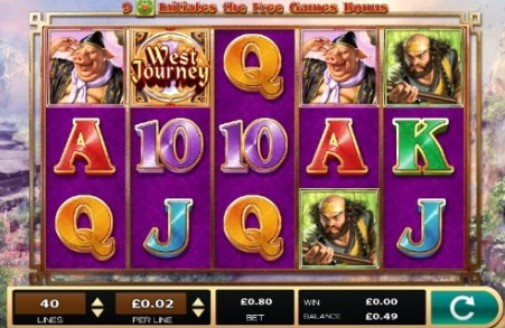 West Journey Treasure Hunt Slot