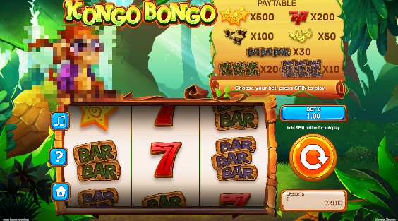 Kongo Bongo uk slot game