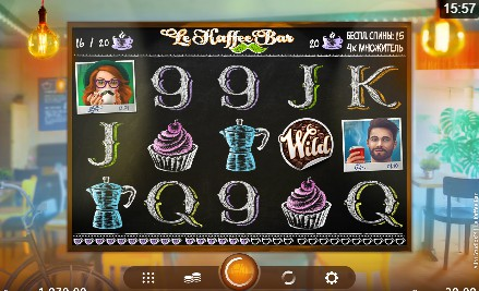 Le Kaffee Bar uk slot game