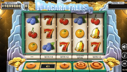 Niagara Falls uk slot game