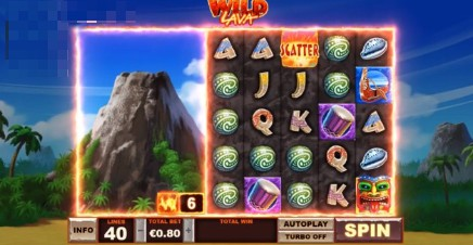 Wild Lava uk slot game