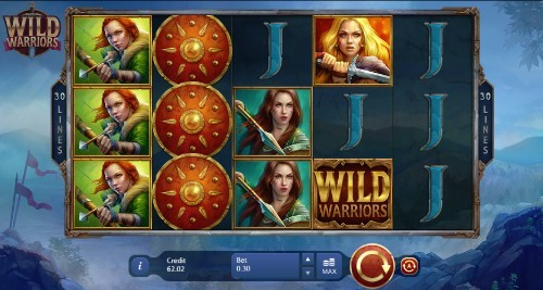 wild warriors uk slot game